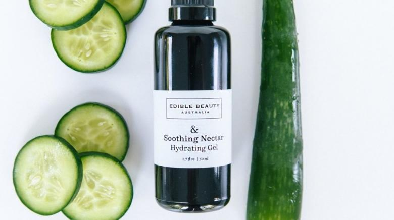 Edible Beauty refines your skin with natural beauty products